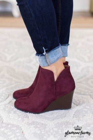 sku9146 | Ability Wedge Bootie