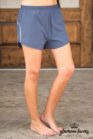 **Daily Deal** Contour Piping Active Shorts