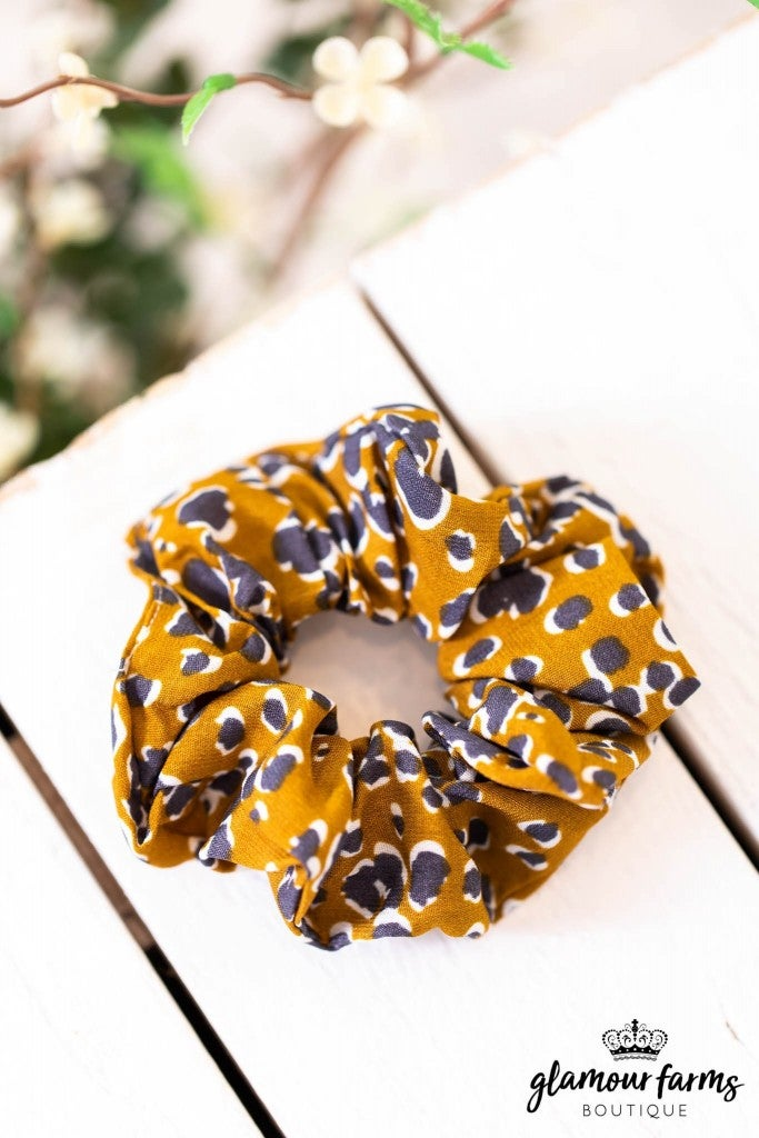sku9154 | Animal Print Hair Scrunchie