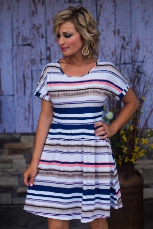 Andi Stripe Dress