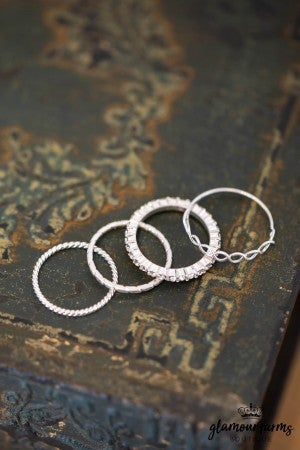 sku10540 | Pave Ring Set