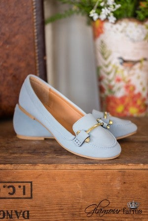 The Stately Loafer - Light Blue