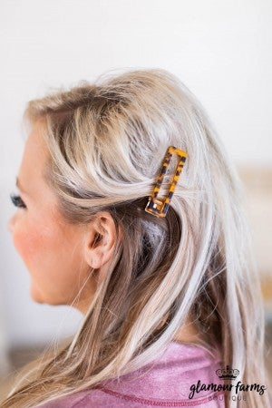 sku9748 | Tortoise Shell Hairclip