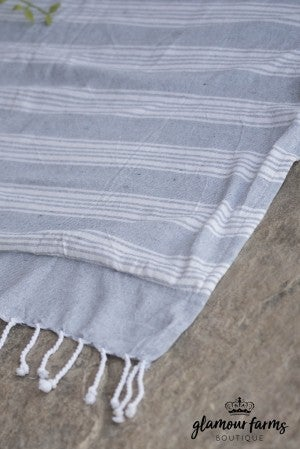Surfside Lined Beach Towel