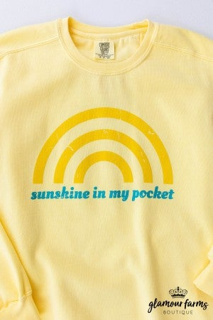 sku12986 | Sunshine In My Pocket Sweatshirt