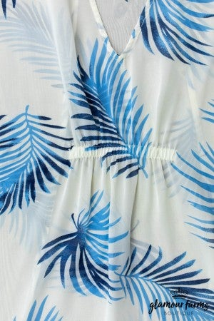 sku13005 | **Daily Deal** Tropical Print Tunic