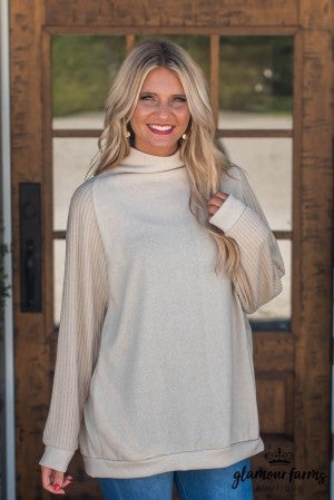 Too Cool To Care Slouchy Tunic
