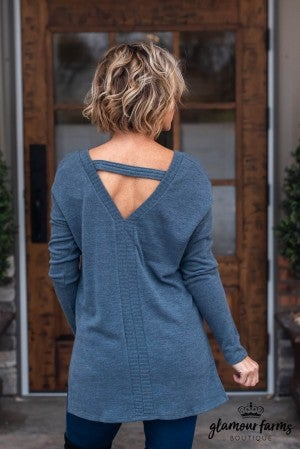 Sweet Memory Open Back Tunic