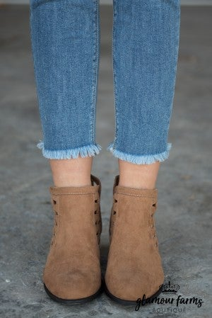 Sadie Cut-Out Bootie