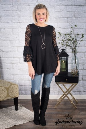 The Ari Lace Detail Tunic