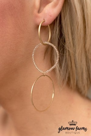 Cassy Circle Earrings
