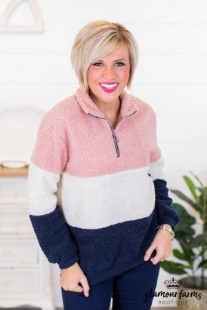 sku10284 | **Daily Deal** Sherpa Pullover