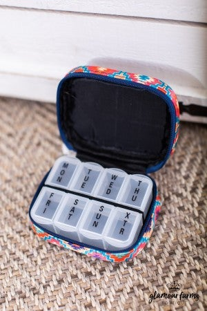 sku14194 | 7 Day Travel Pill Case