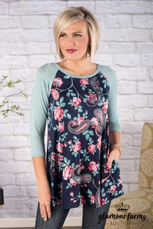 Perry Floral Medallion Tunic/Dress