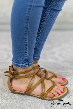 Bungalow Double Buckle Sandal
