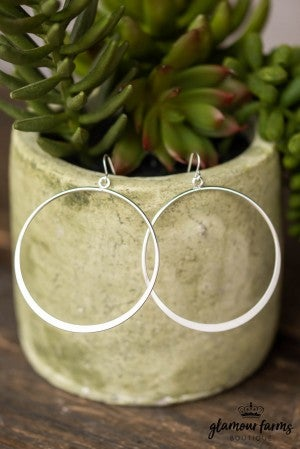 **Daily Deal** Simple Find Hoop Earring