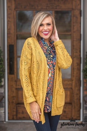 **Daily Deal** Comfort At Last Cardigan