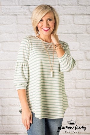 Madison Stripe Top