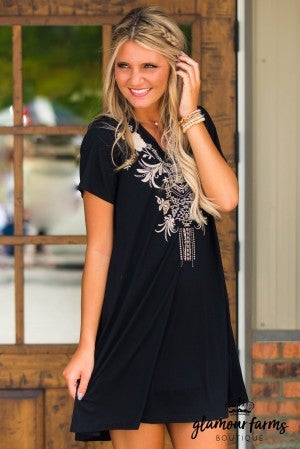 Monterey Embroidered Dress