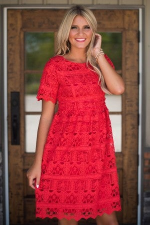 Beauty Within Lace Dress