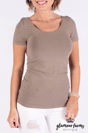 sku004m | Ahh-mazing Short Sleeve Shaper