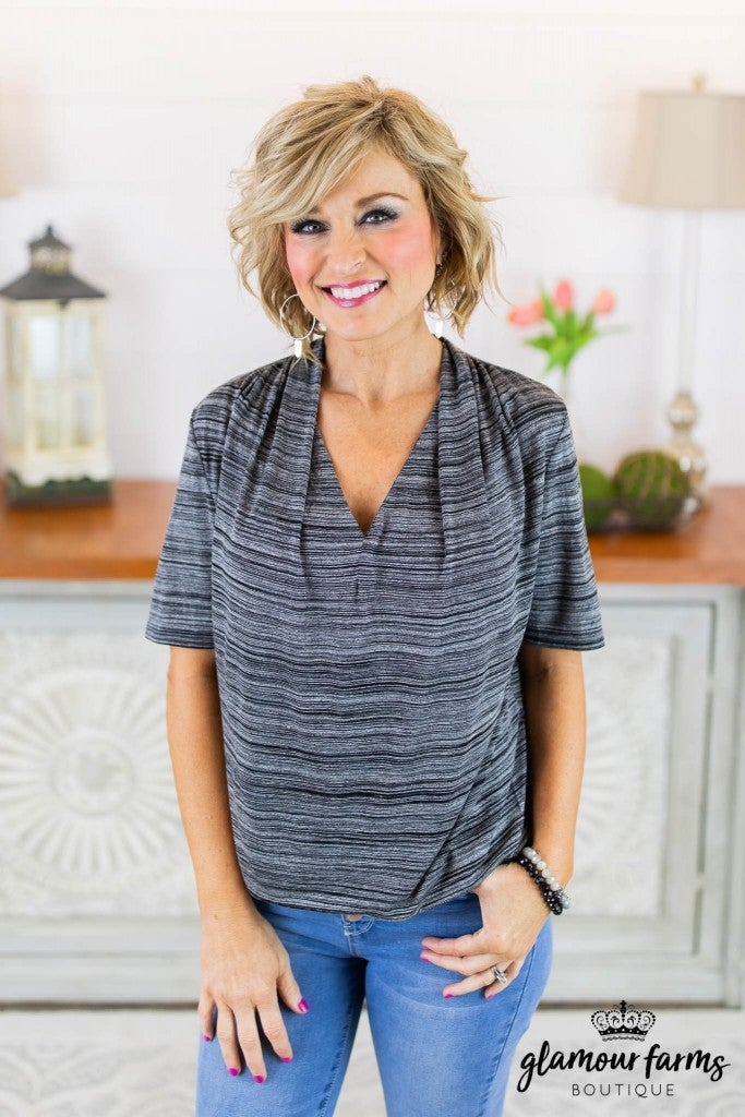 **Daily Deal** Sweet Chaos Draped Top