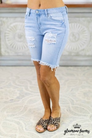 Dream Destructed Bermuda Shorts