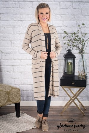 Beauty In Believing Long Cardigan