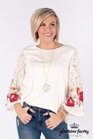 Early Blooms Top