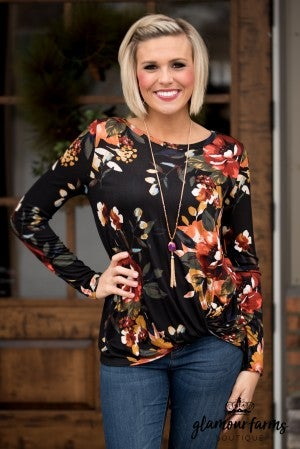 Treat Yourself Floral Top