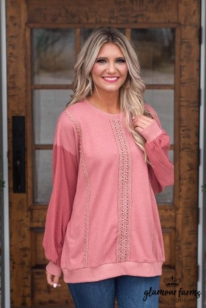 Sweet Attraction Lace Tunic