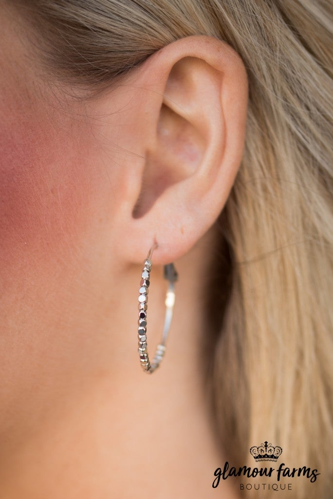 Brandy 1 3 4 Hoop Earring