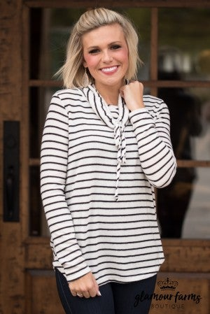 Stripes In Santa Monica Top