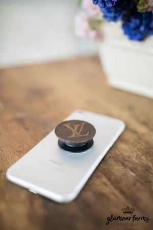 sku8603 | Upcycled Louis Vuitton Pop Phone Holder