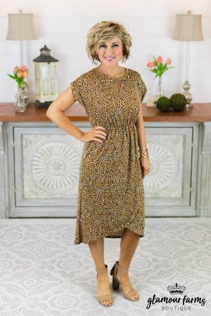 Endangered Beauty Midi Dress