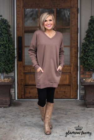 **Daily Deal** All The Warmth Oversized Sweatshirt