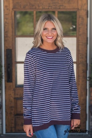 Take Time Stripe Sweater
