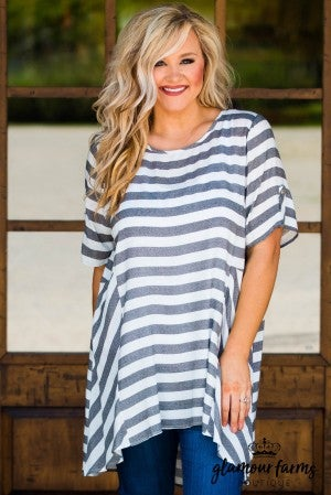 Holly Stripe Tunic