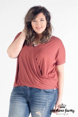 ** Daily Deal** Santana Surplice Top