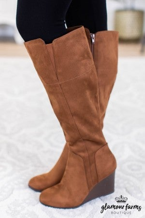 sku10560 | Pulse Knee High Wedge Boot