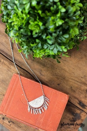 **DAILY STEAL!** Marley Half Moon Necklace