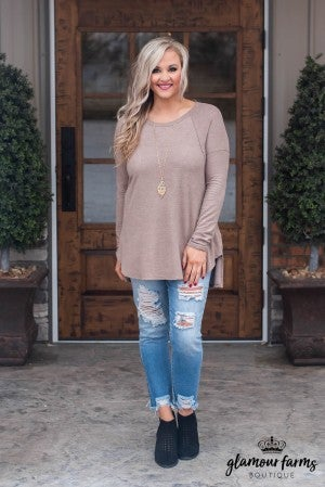 **Daily Deal** Shade Of Winter Hi-Lo Tunic