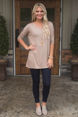 **Daily Deal** Basic Is The Best Comfy Top