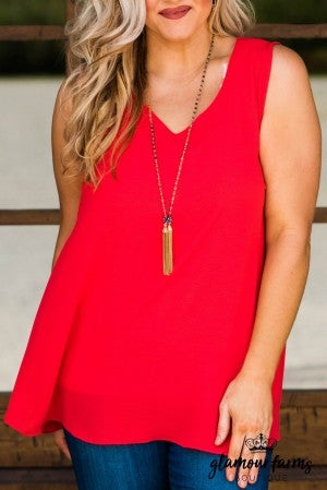 Marlow Double V-Neck Tank