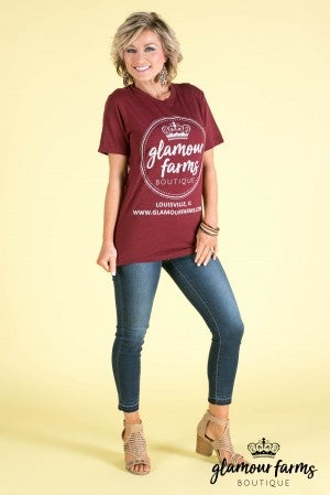 Glamour Farms Logo T-Shirt