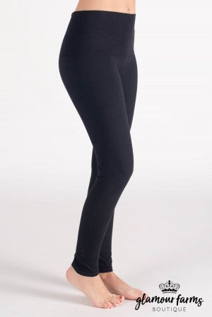 Curvy| Ahh-mazing Tummy Tuck Denim Ankle Legging