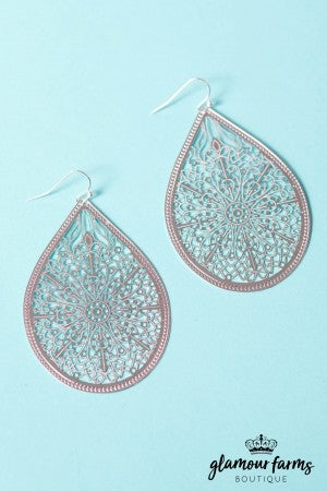 Meridian Filigree Earring