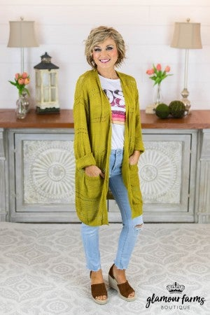Long On Style Lightweight Cardigan
