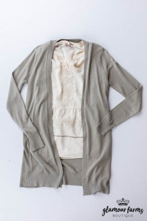 sku12496 | **Daily Deal** Butter Soft Cardigan