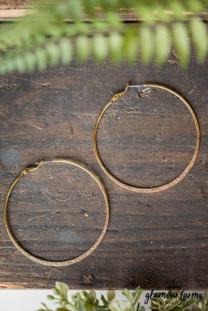 **Daily Deal** Complete The Look Hoop Earring